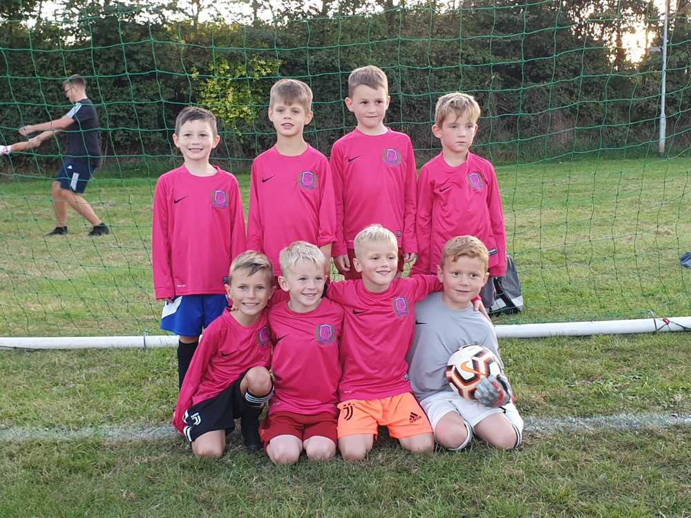 Under 7s Football Journey
